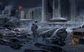 Picture Toronto, weihao wei, What if Canada Fall, Division Fanart