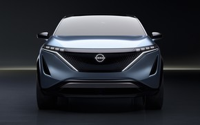 Picture Nissan, crossover, 2020, Electric, Ariya, Nissan Ariya, Electric crossover