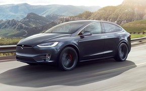 Picture Tesla, Model X, Electric car