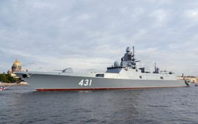 Picture frigate, Neva, Admiral, Kasatonov
