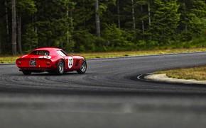Picture Auto, Road, Retro, Machine, Ferrari, Ferrari, Logo, GTO, 250, Ferrari 250 GTO, Gran Turismo, Ferrari …