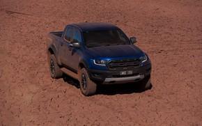Picture blue, earth, Ford, Raptor, pickup, 2018, Ranger