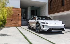 Picture Porsche, 2018, Mission E, Cross Turismo