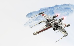 Picture the game, Star Wars, game, Battlefront, X-Wing, Shooter, Star Wars Battlefront