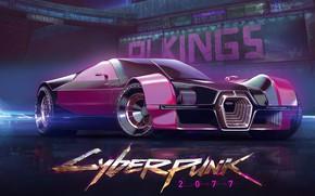 Picture Auto, The game, Machine, Style, Fantasy, Art, Art, Fiction, Fiction, Illustration, CD Projekt RED, Cyberpunk …