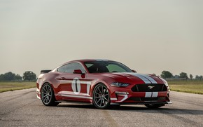 Wallpaper Mustang, Ford, 2018, Hennessey, Edition, Heritage, 808 HP