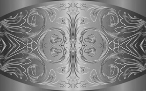 Picture metal, pattern, figure