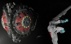 Picture space, station, base, camera, Beyond Human