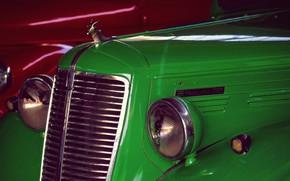 Picture retro, lights, grille