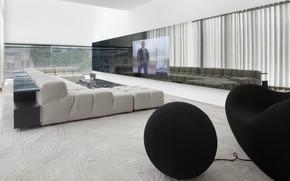 Picture design, style, interior, home theater, living room, Estoril Villa, by Gavinho