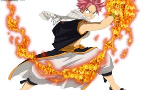 Picture fire, Fairy Tail, Natsu Dragneel, Fairy tail