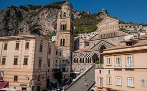 Picture Italy, Amalfi, Cathedral, Собор Андрея Первозванного