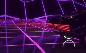 Wallpaper Auto, Music, Machine, Background, Cyberpunk 2077, Cyberpunk, Synth, Retrowave, Synthwave, New Retro Wave, Futuresynth, Sintav, ...