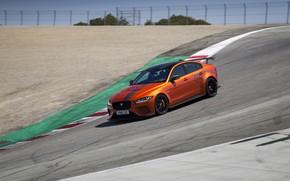 Picture orange, movement, Jaguar, 2018, XE SV Project 8