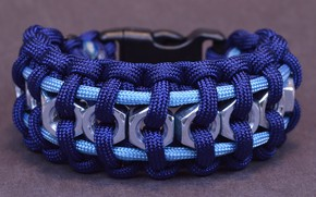 Picture macro, rope, bracelet, texture, nuts, paracord