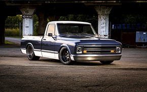 Picture Chevrolet, Tuning, Pickup, C10