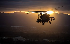 Picture helicopter, Apache, AH-64