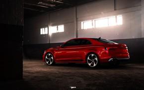 Picture Audi, Red, Auto, Machine, RS5, Coupe, Rendering, Audi RS5, by Mikhail Nikolaev, Mikhail Nikolaev, Audi …