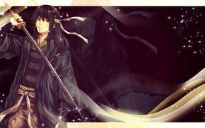 Picture sword, guy, Gintama, Gintama