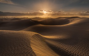 Picture sand, the sun, desert, dunes, Sands, relief