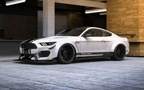 Picture Mustang, Ford, Shelby, White, Machine, Ford Mustang, Rendering, Concept Art, GT350, Ford Mustang Shelby GT350, …