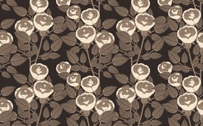 Picture background, roses, texture, Background, Pattern