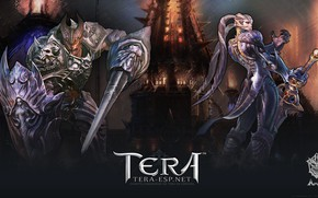 Picture weapons, demons, Tera