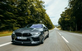 Picture trees, markup, coupe, track, BMW, Gran Coupe, AC Schnitzer, 2020, BMW M8, M8, the four-door, …