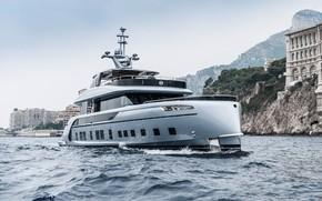 Wallpaper sea, yacht, porsche, yacht