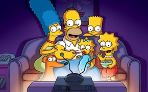 Picture The simpsons, The series, Cartoon, Cartoon, The Simpsons, Tv Series