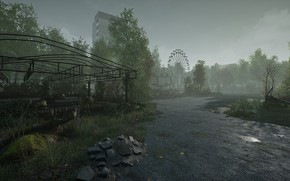 Picture Park, disaster, Pripyat, cars, wheel review