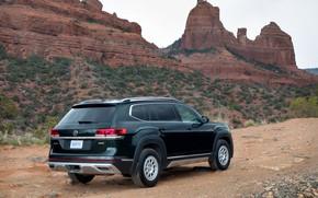 Picture Volkswagen, lining, SUV, Atlas, 2020, Basecamp, sidebar