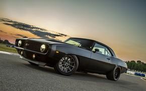 Picture Chevrolet, Camaro, Wheels, '69, Forgeline, Dropkick