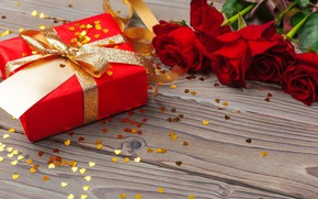 Picture birthday, roses, gift