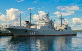 Picture ship, landing, Ivan Gren
