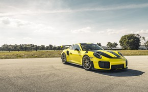 Picture Porsche, Yellow, 991, VAG, Sight, GT2RS