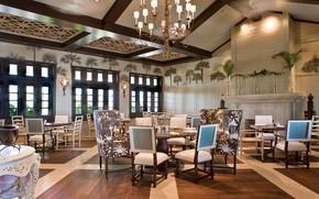 Picture interior, club, restaurant, the room, Johns sland, Vero beach, Clubhouse, beach club