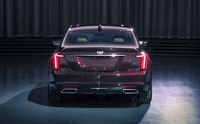 Picture Cadillac, rear view, 2020, Premium Luxury, CT5