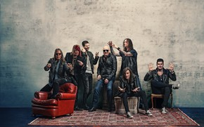 "Picture Helloween, Michael Kiske, немецкая пауэр-метал-группа, Kai Michael Hansen, Andi Deris, Daniel ""Dani"" Löble, Sascha Gerstner, …"