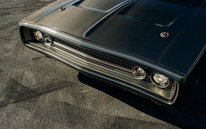 Picture Carbon, Evolution, 1970, Dodge Charger, The Front Headlights, Speedkore, Carbon fiber