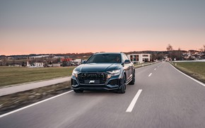 Picture Audi, the evening, Germany, crossover, ABBOT, 2020, RS Q8