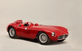 Picture Maserati, Spokes, Classic, Classic car, 1955, Sports car, Maserati 300S