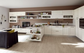 Picture design, style, interior, kitchen, living room