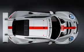 Picture coupe, 911, Porsche, the view from the top, RSR, 2019
