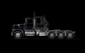 Picture trucks, cutaway, engineering