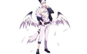 Picture style, angel, guy, kiborik