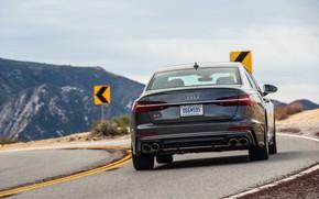 Picture Audi, sedan, feed, Audi A6, 2020, Audi S6, US-version