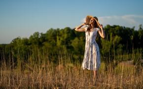 Picture summer, girl, nature, Jennifer Mericle