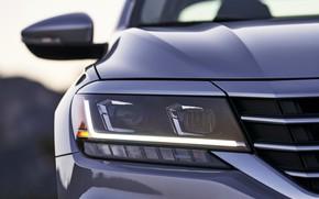 Picture headlight, Volkswagen, before, sedan, Passat, 2020, 2019, US Version