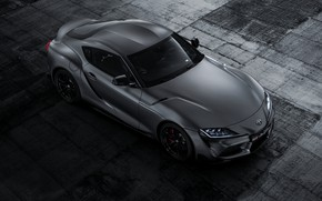Picture background, coupe, top, Toyota, Supra, the fifth generation, mk5, double, 2019, GR Above, A90, Gazoo …